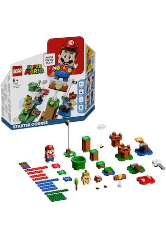 """LEGO® Konstruktionsspielsteine """"Abenteuer mit Mario – Starterset (71360), LEGO® Super Mario"""", Kunststoff, (231 - tlg.) kaufen"""
