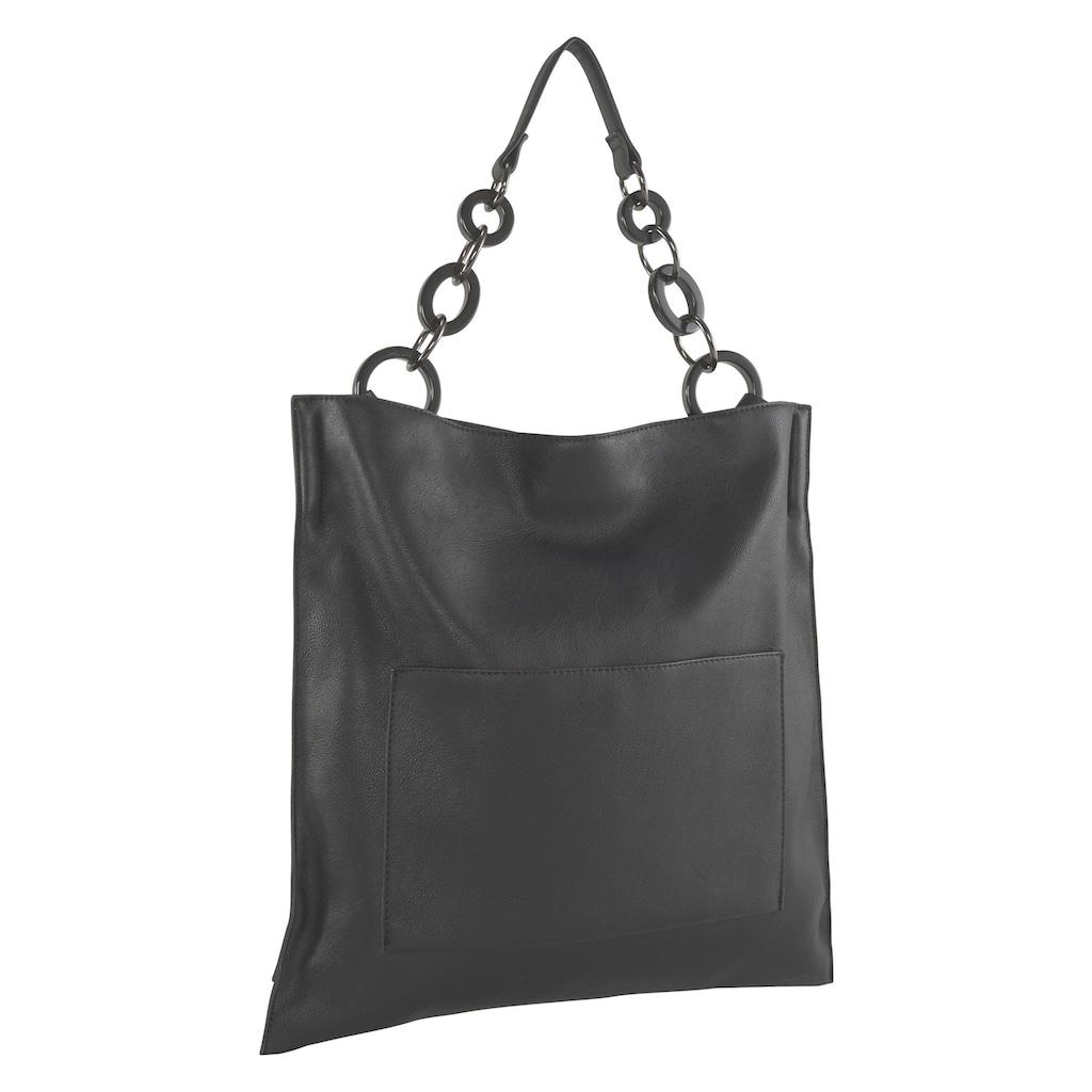 Tasche mit Acrylelementen