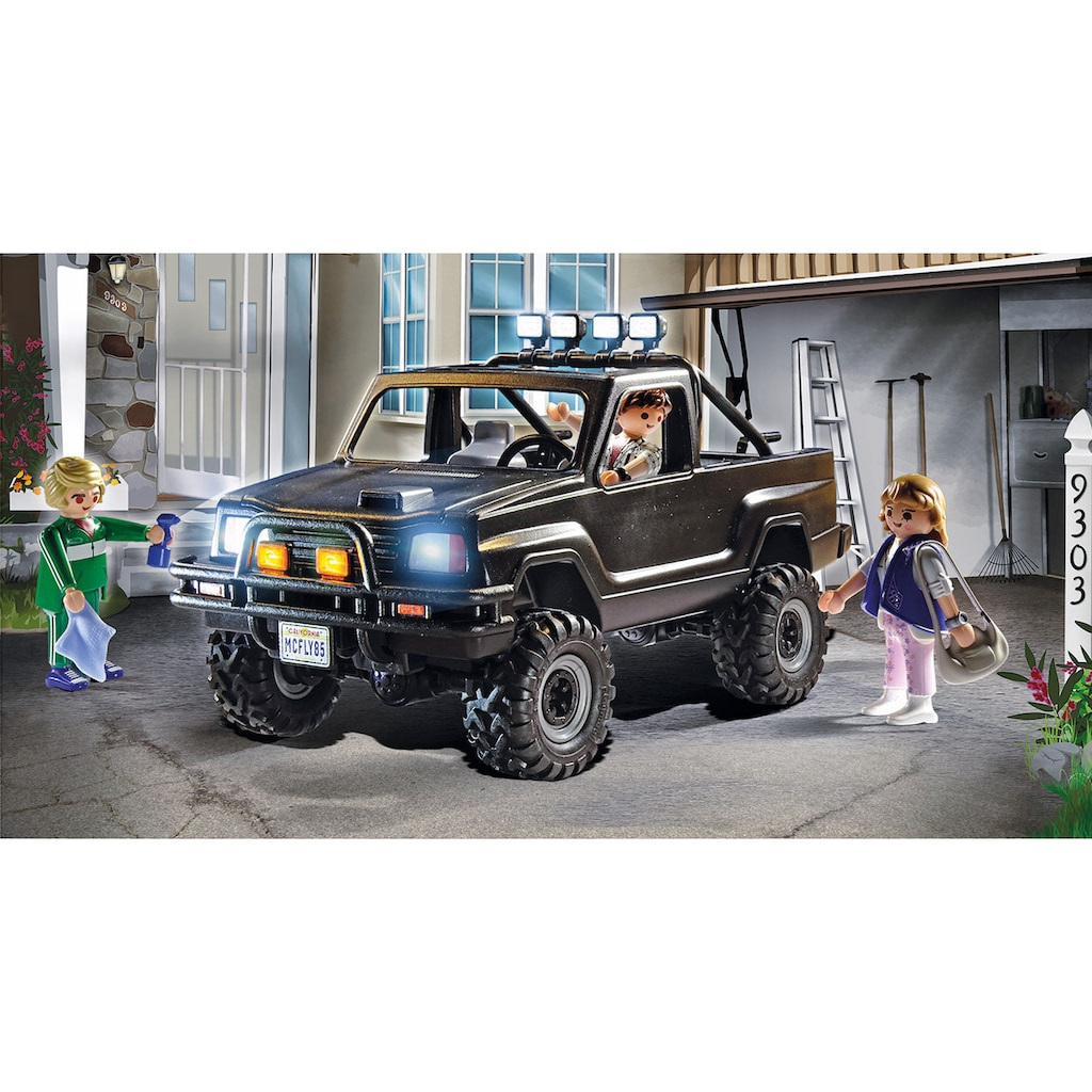 Playmobil® Konstruktions-Spielset »Back to the Future Marty's Pick-up Truck (70633), Back to the Future«, (35 St.), Made in Germany