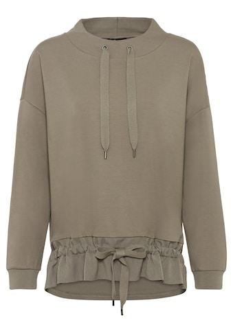 Olsen Sweatshirt, mit raffinierten Bindebändern kaufen