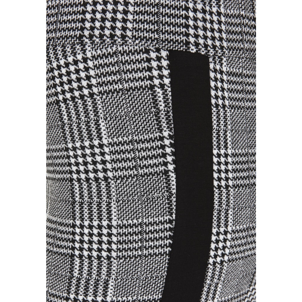 Doris Streich Stoffhose »mit Glencheck«, elastischer Bund