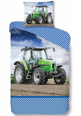 good morning Kinderbettwäsche »Strong«, mit Traktor Motiv kaufen
