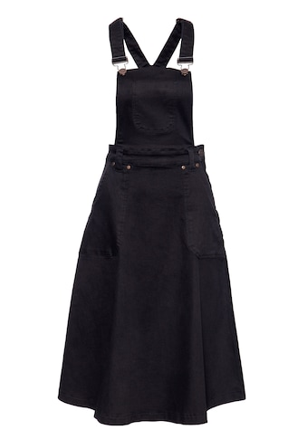 QueenKerosin Latzrock, aus Denim in Workwear-Optik kaufen