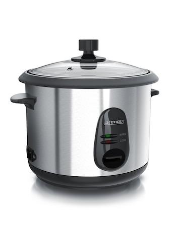 Arendo Reiskocher mit Warmhalte & Dampfgarfunktion kaufen