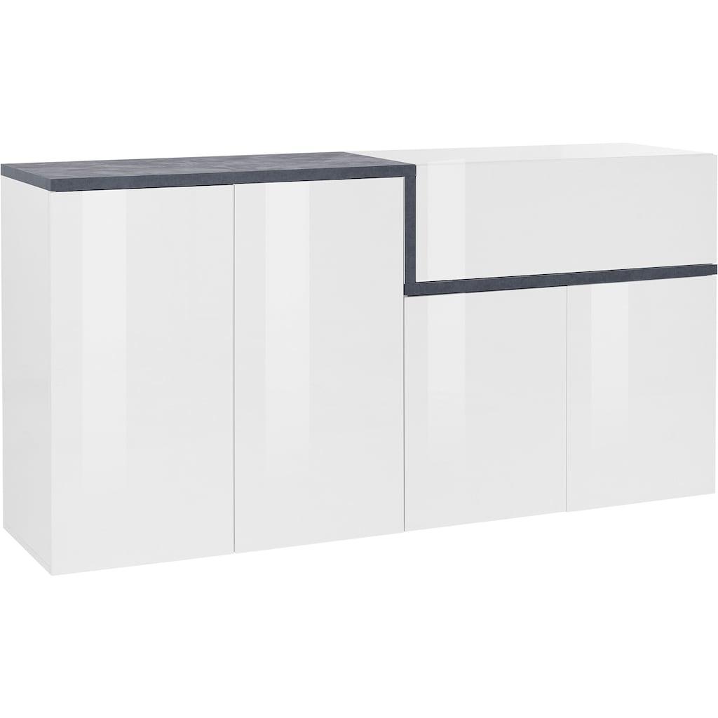 Tecnos Sideboard »Zet«, Breite 160 cm