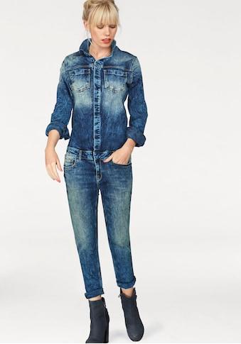 LTB Jumpsuit »NANCIE X«, mit leichter Waschug für einen lässigen Look kaufen