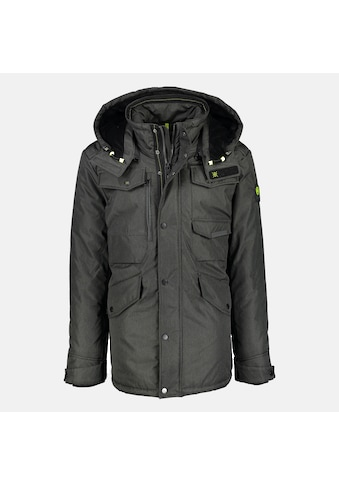 LERROS Fieldjacket, unifarben, mit Kapuze und vielen Taschen kaufen