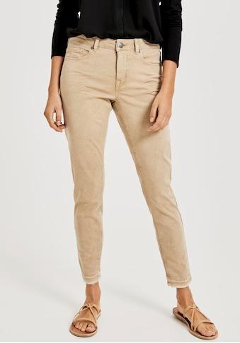 OPUS 7/8-Jeans »Elma«, mit dezent ausgefranster Saumkante kaufen