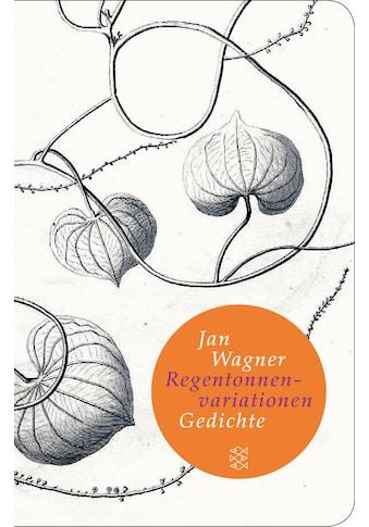 Buch »Regentonnenvariationen / Jan Wagner« kaufen