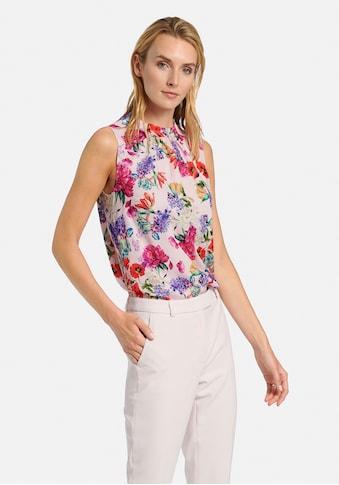 Uta Raasch Blusentop »Ärmellose Bluse«, mit Blüten-Motiv kaufen