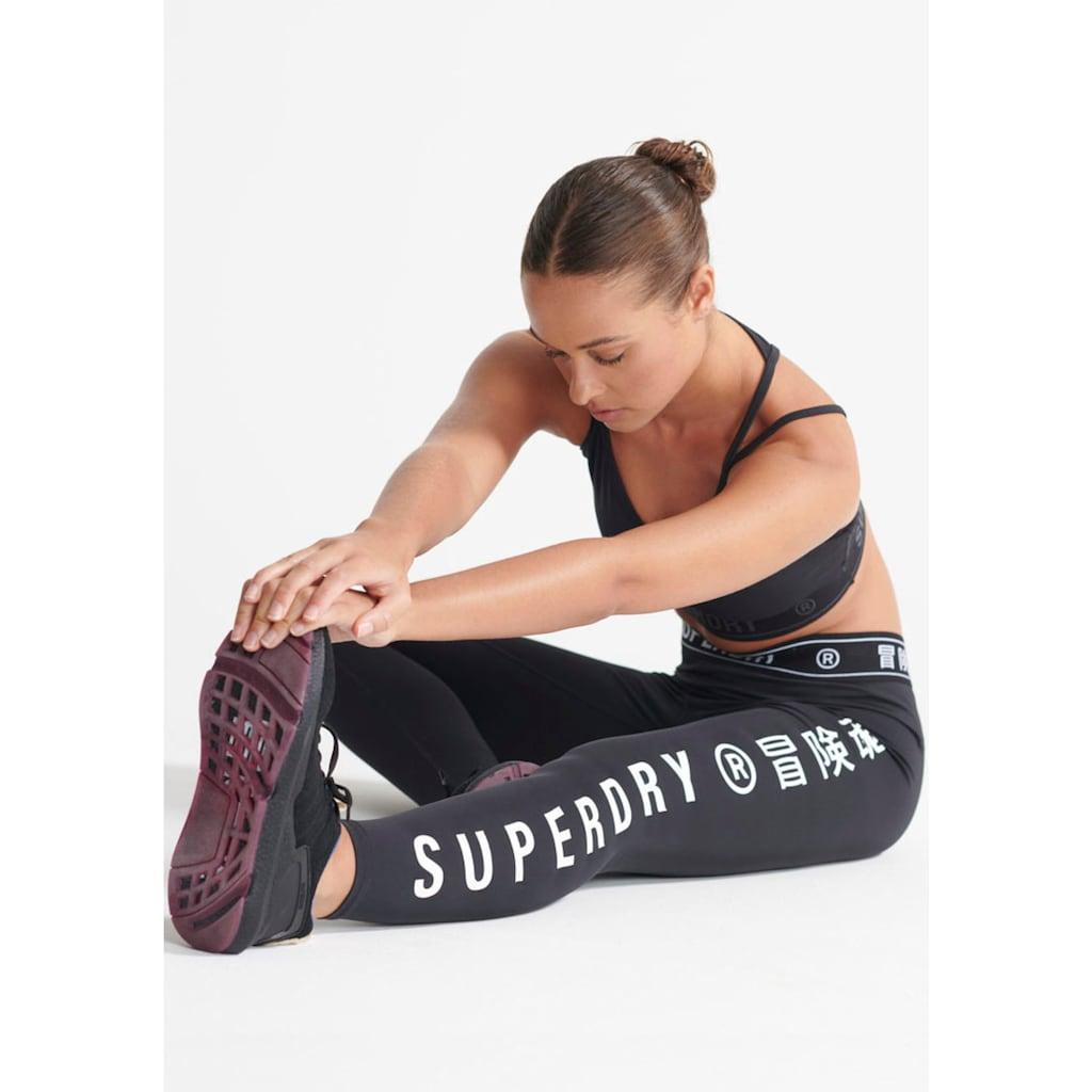 Superdry Sport Lauftights »TRAINING ELASTIC LEGGIN«