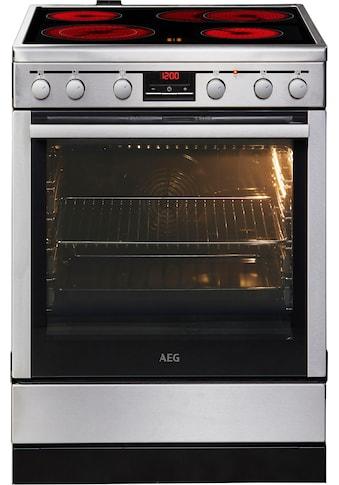 AEG Elektro-Standherd »47A56VS-MN«, mit Bräterzone kaufen