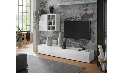 TRENDMANUFAKTUR Wohnwand »Aksel«, (Set, 2 St.) kaufen