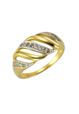 Diamonds by Ellen K. Fingerring, Ring 925/- Sterling Silber Diamant 0,18ct. kaufen