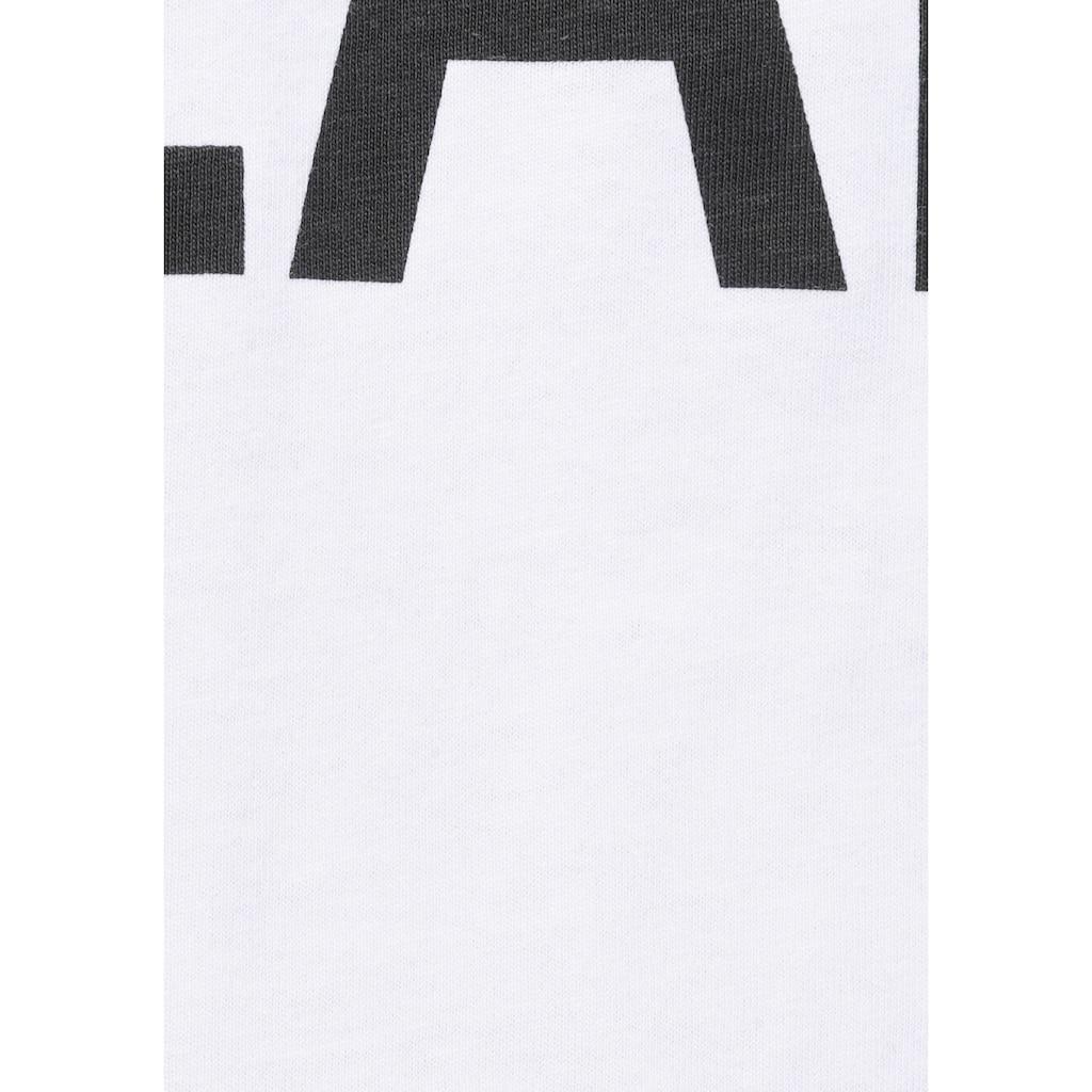 H.I.S Langarmshirt, mit Markenprint