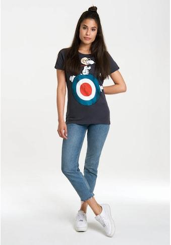 LOGOSHIRT T-Shirt »Snoopy«, mit lizenziertem Originaldesign kaufen