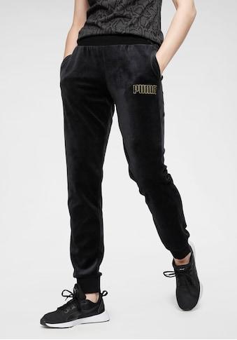 PUMA Jogginghose »Modern Basics Velour Pants« kaufen