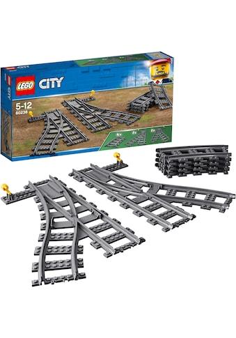 """LEGO® Konstruktionsspielsteine """"Switch Tracks (60238), LEGO® City"""", (6 - tlg.) kaufen"""
