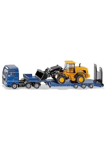 Siku Spielzeug-LKW »SIKU Super, MAN mit Tieflader und JCB Radlader« kaufen