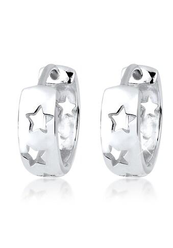 Elli Paar Creolen »Creolen Sterne Astro Trend 925 Silber« kaufen