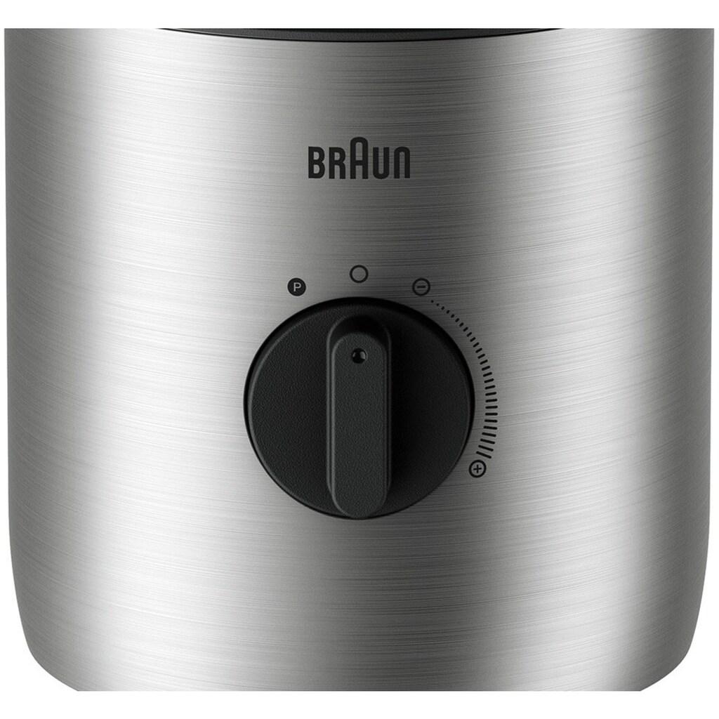 Braun Standmixer »PowerBlend 3 JB 3272 SI«, 800 W