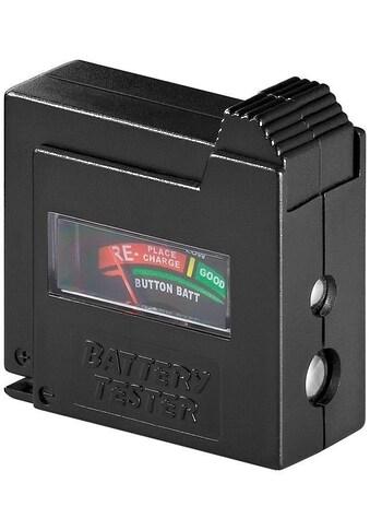 Goobay Batterietester »für Batterien und Knopfzellen« kaufen
