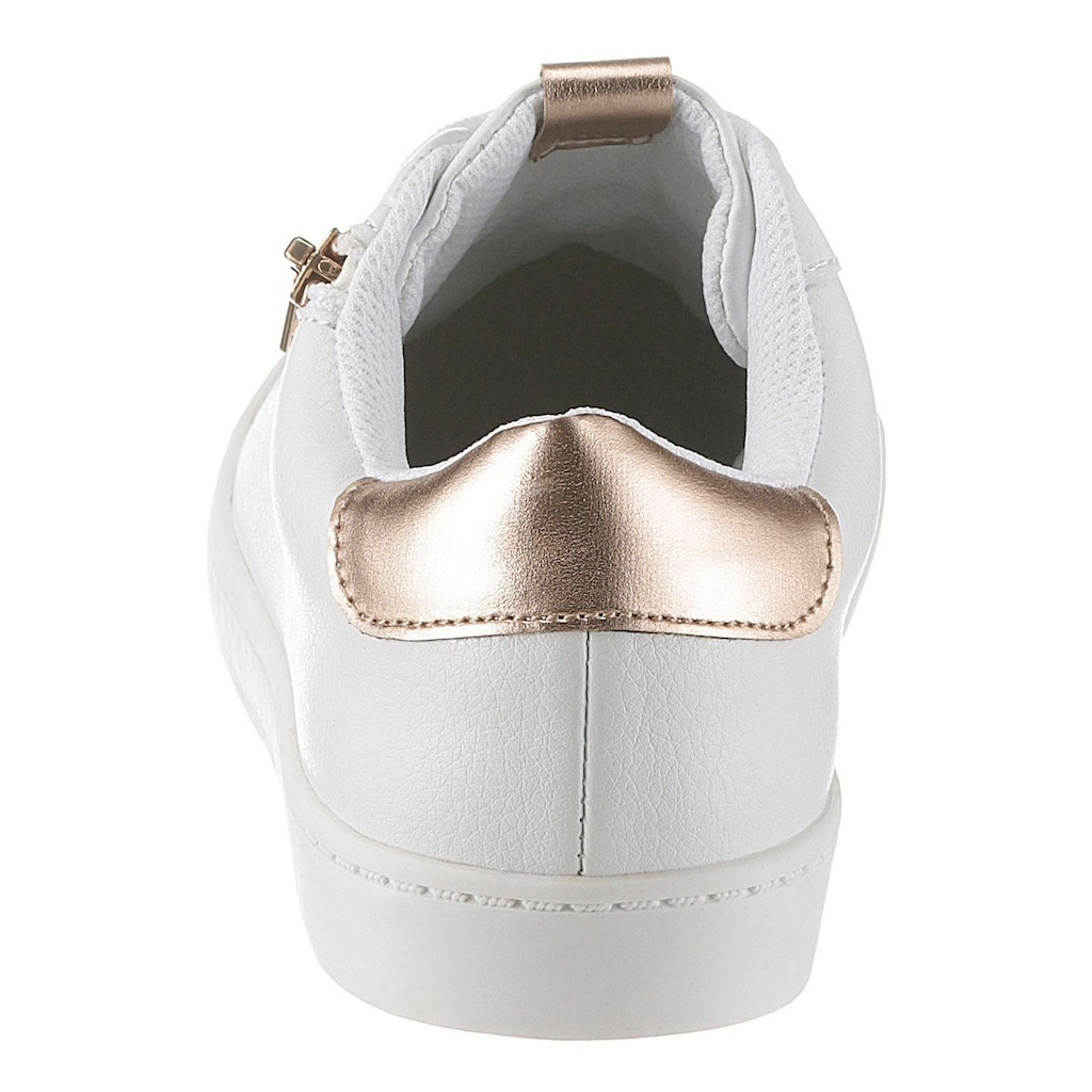CITY WALK Sneaker, mit Metallic-Details