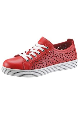 Gemini Sneaker »Ulli«, mit perforiertem Obermaterial kaufen