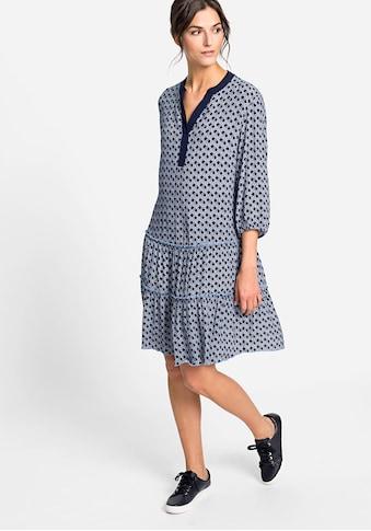 Olsen Sommerkleid, mit maritimem Muster kaufen