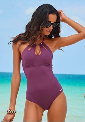 LASCANA Badeanzug »Italy«, mit modischen Cut-Outs kaufen
