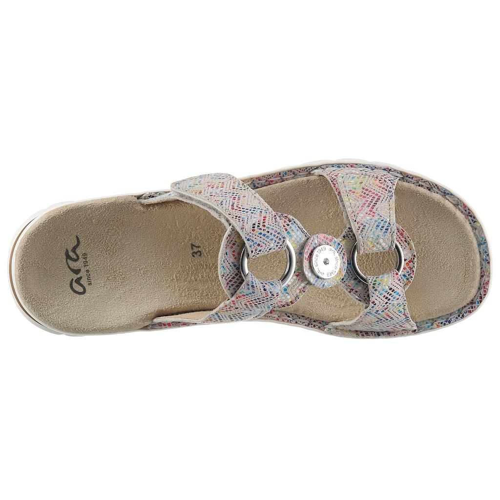 Ara Pantolette »TAMPA«, mit Luftpolster-Laufsohle