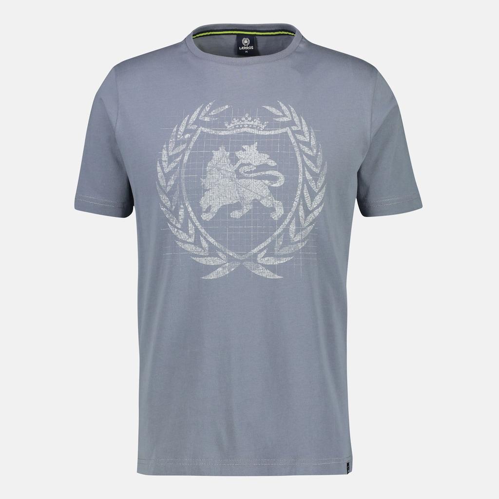 LERROS T-Shirt, mit Logoprint auf der Brust