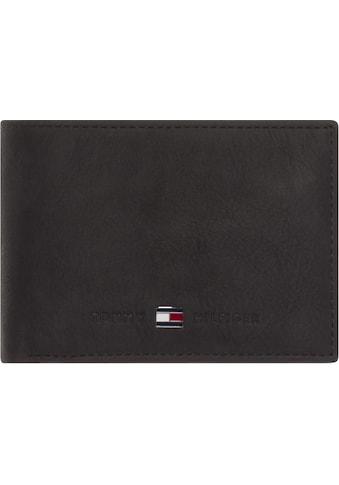 Tommy Hilfiger Geldbörse »JOHNSON MINI CC FLAP COIN POCKET«, aus hochwertigem Leder kaufen