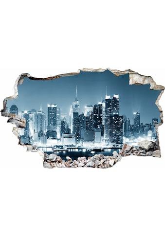 Wandtattoo »New York at Night 1« kaufen