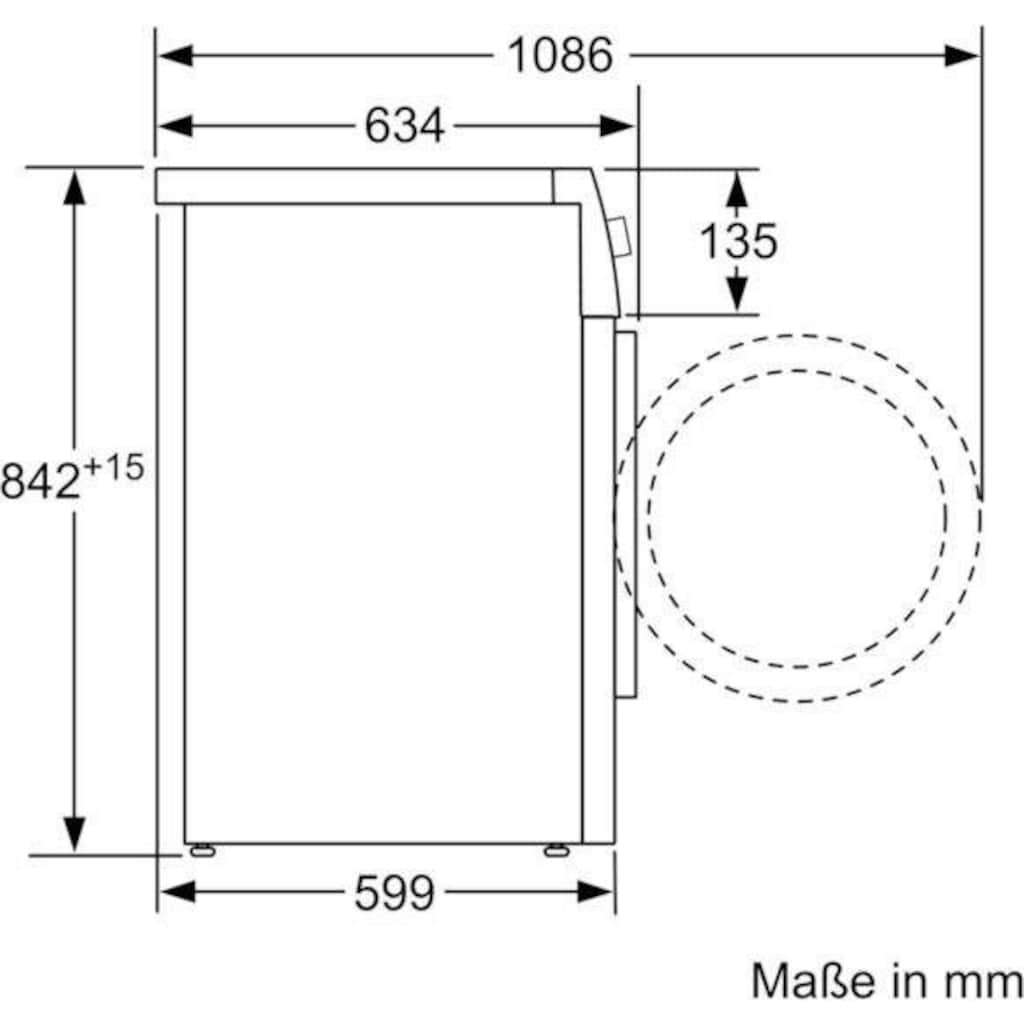 SIEMENS Wärmepumpentrockner »WT47XMA1«, iQ700