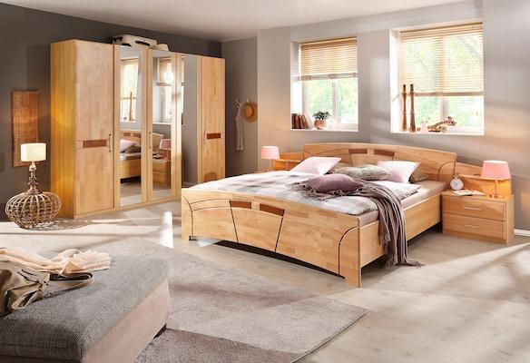 Schlafzimmer-Set aus Holz