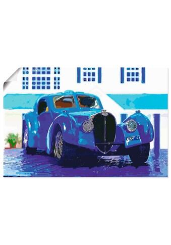 Artland Wandbild »Bugatti Typ 57 Atlantic«, Auto, (1 St.), in vielen Größen &... kaufen