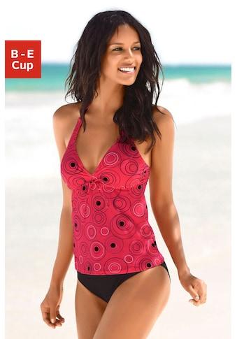 s.Oliver Beachwear Bügel-Tankini, mit schönem Druckdesign kaufen