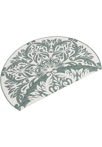 bougari Teppich »Madrid«, rund, 5 mm Höhe, In- und Outdoor geeignet, Wendeteppich,... kaufen