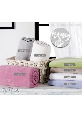 Florella Spannbettlaken »Soft-Frottee, für Matratzenhöhen bis 35 cm« kaufen