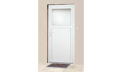 KM Zaun Haustür »K601P«, BxH: 88 x 198 cm, weiß, in 2 Varianten kaufen