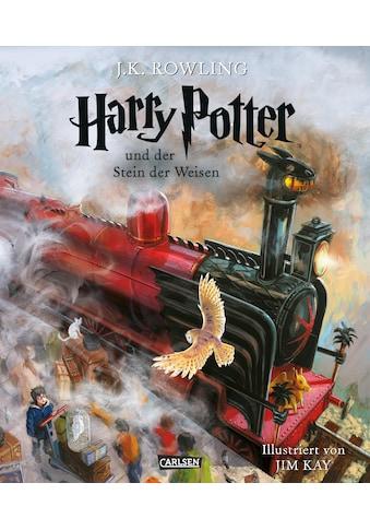 Buch »Harry Potter und der Stein der Weisen (farbig illustrierte Schmuckausgabe)... kaufen