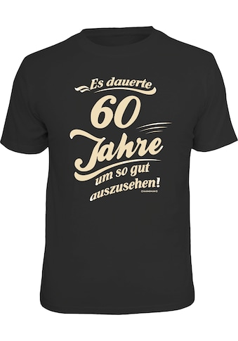 Rahmenlos T-Shirt T-Shirt mit lustigem Geburtstags-Print kaufen