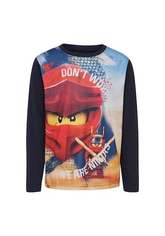 "LEGO® Wear Langarmshirt »CM-51116«, ""mit dem roten Ninja Kai"" kaufen"