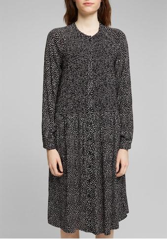 edc by Esprit A-Linien-Kleid, durchgehend geknöpft kaufen
