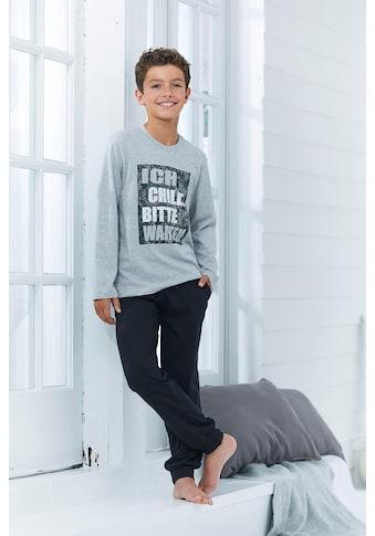 """Pyjama, """"Ich chille bitte warten"""" kaufen"""