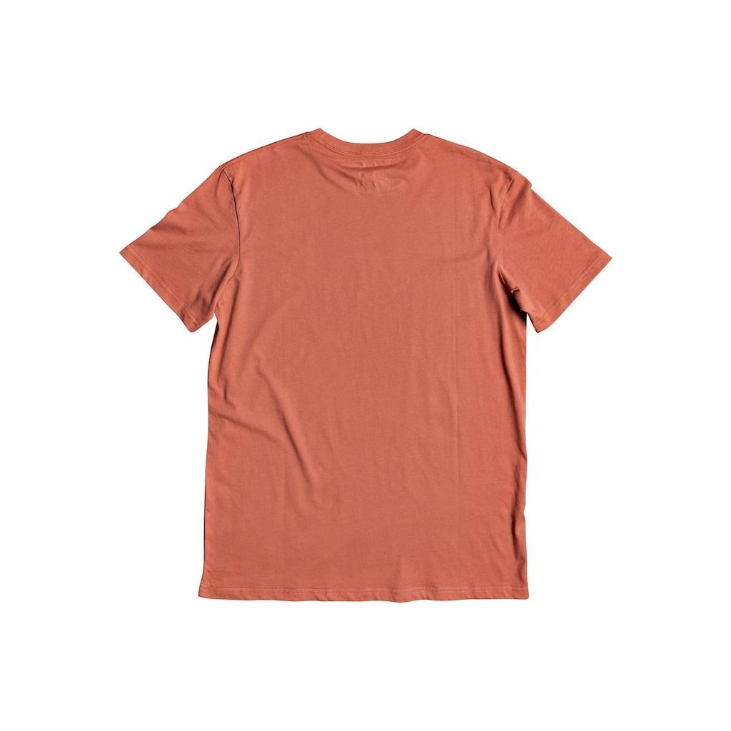 Quiksilver T-Shirt »Words Remain«