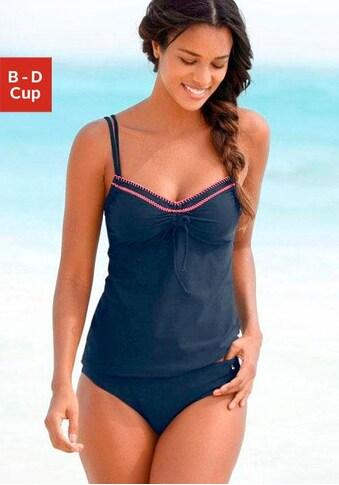 s.Oliver Beachwear Bügel-Tankini, mit Häkelkante kaufen