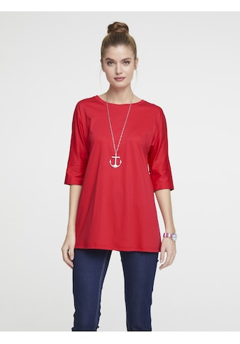 Longshirt mit breiten Bündchen kaufen