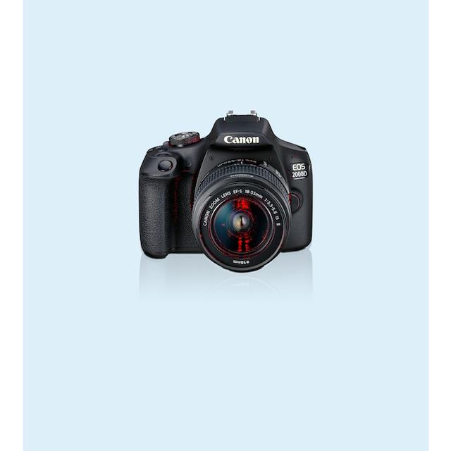 Canon »EOS 2000D EF-S 18-55 IS II Value Up Kit« Spiegelreflexkamera (EF-S 18-55 IS II, 24,1 MP, NFC WLAN (Wi-Fi))